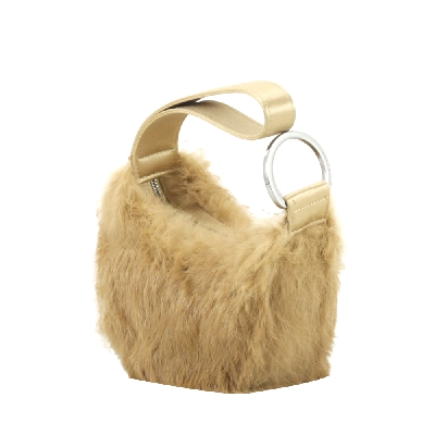 Mini Brown Fur Bag