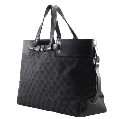 GG Canvas Zipper