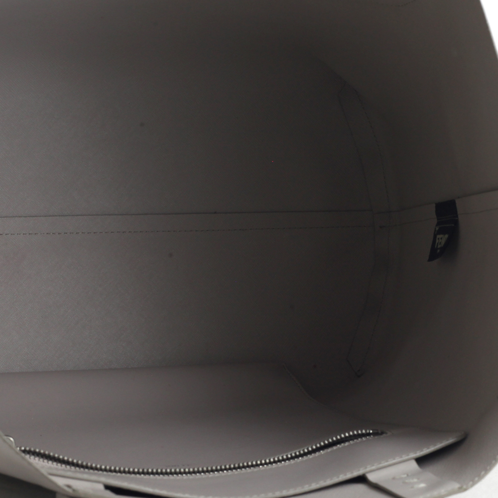 Tote Bag Monster in Light Grey