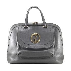 Large Tote Bag in Grey