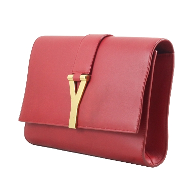 Y Clutch in Red GHW