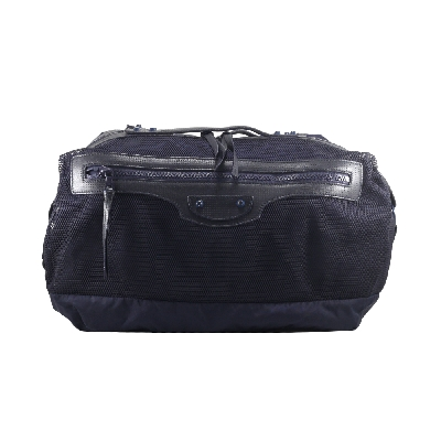 Canvas Travelling Bag in Navy Blue
