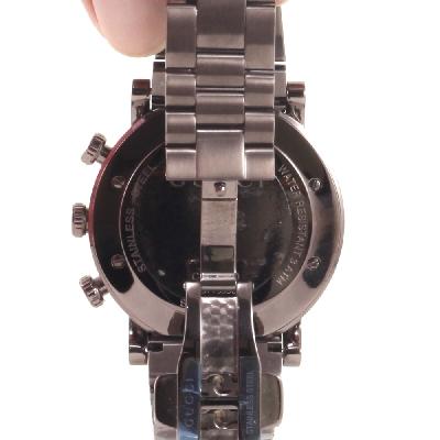 Chrono Watch Quartz in Brown