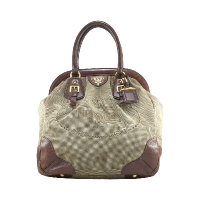 Canvas Jacquard in Brown