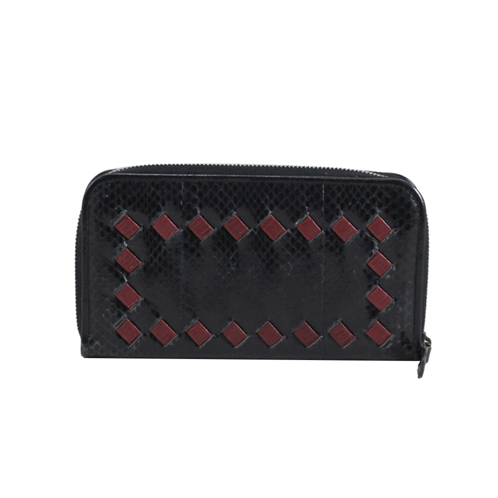 Wallet in Black/Red