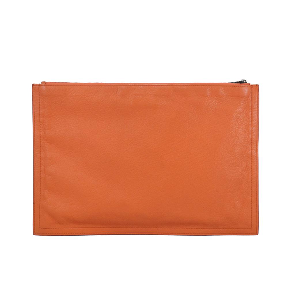 Clutch in Orange