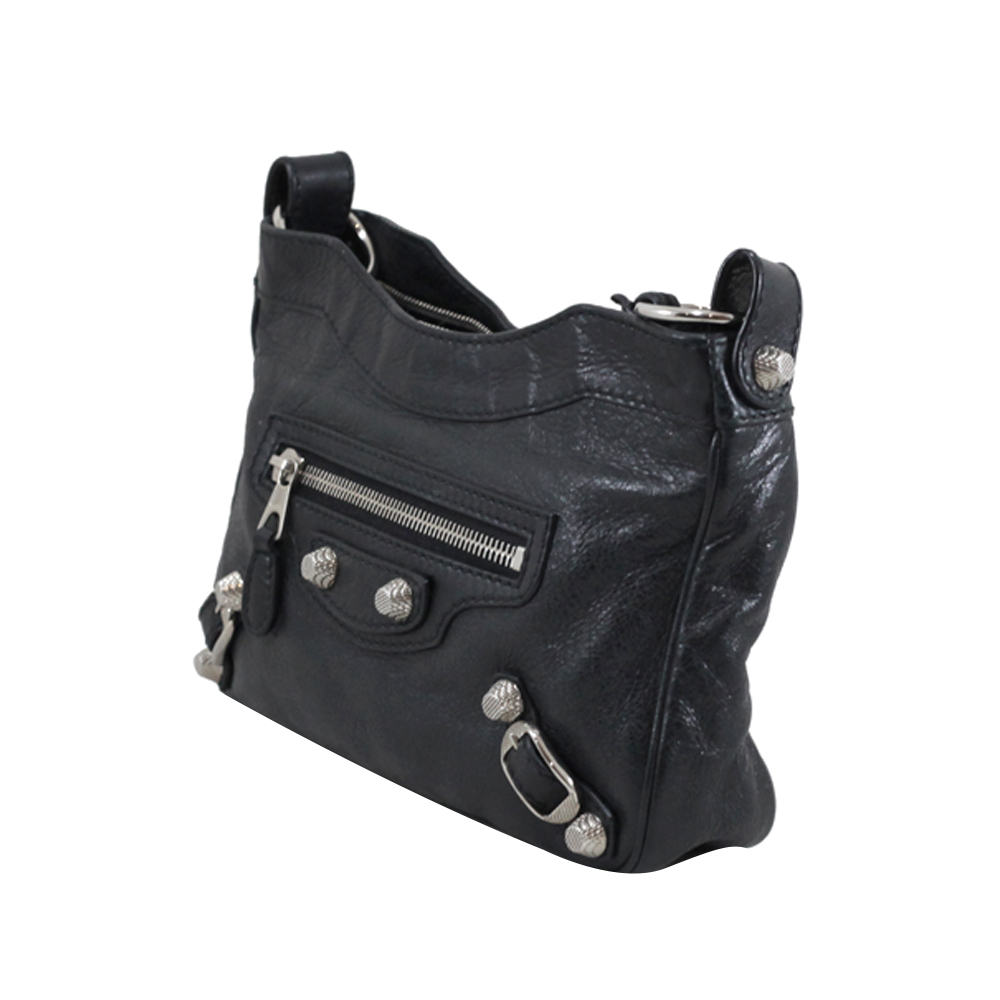 Hip Bag in Black SHW